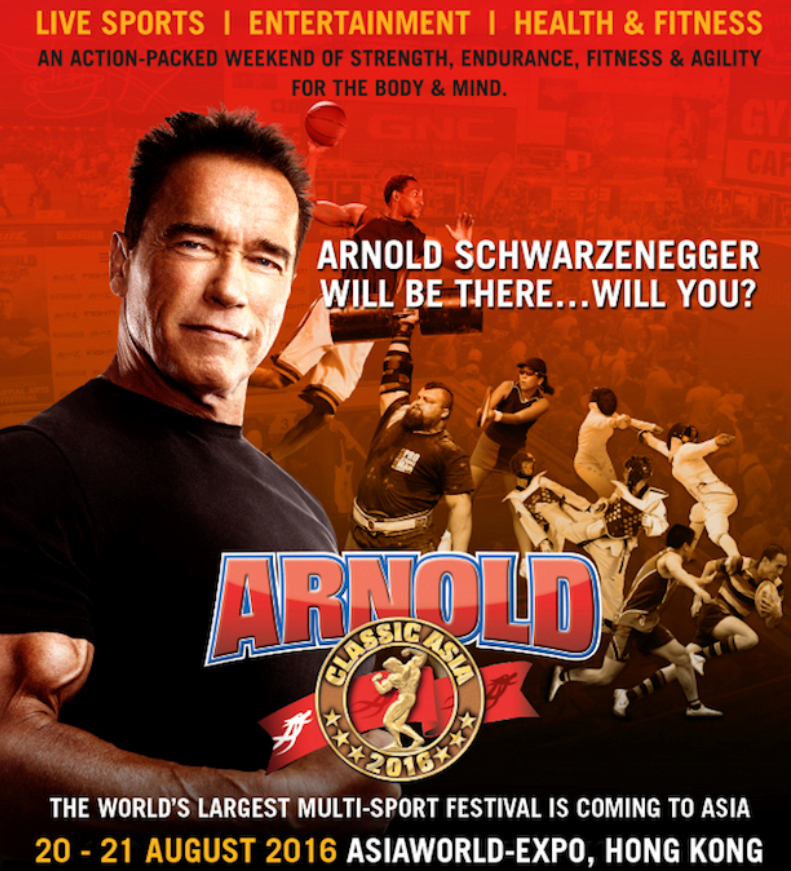 Rundown – Arnold Schwarzenegger Multi Sports Festival 2016