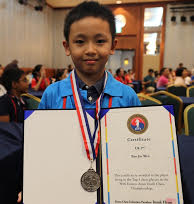 CM Bao Jin Wen won 2nd place in U8