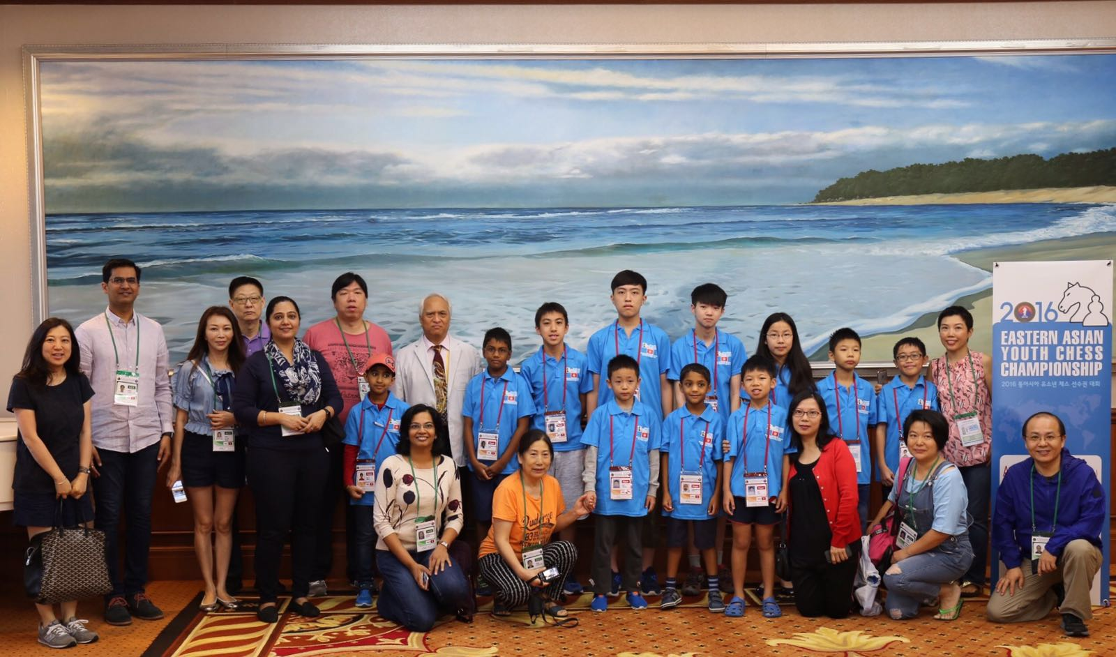 Hong Kong won 2nd place in U8 and G12 in the East Asian Chess Championships 2016