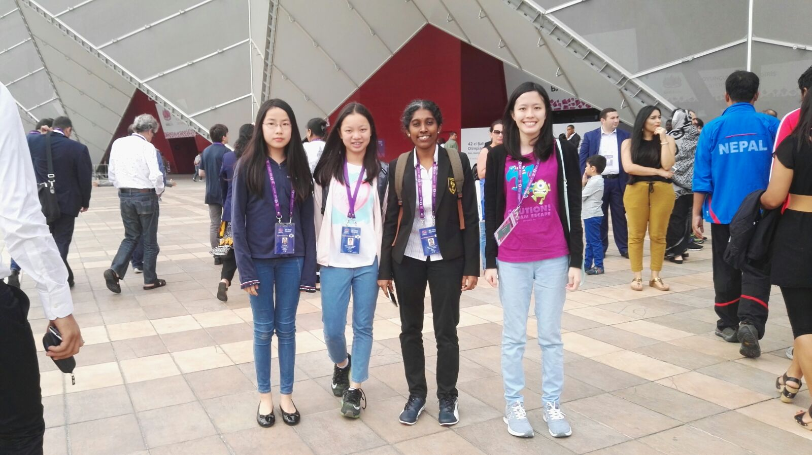 42nd Olympiad – HKG Open & Women