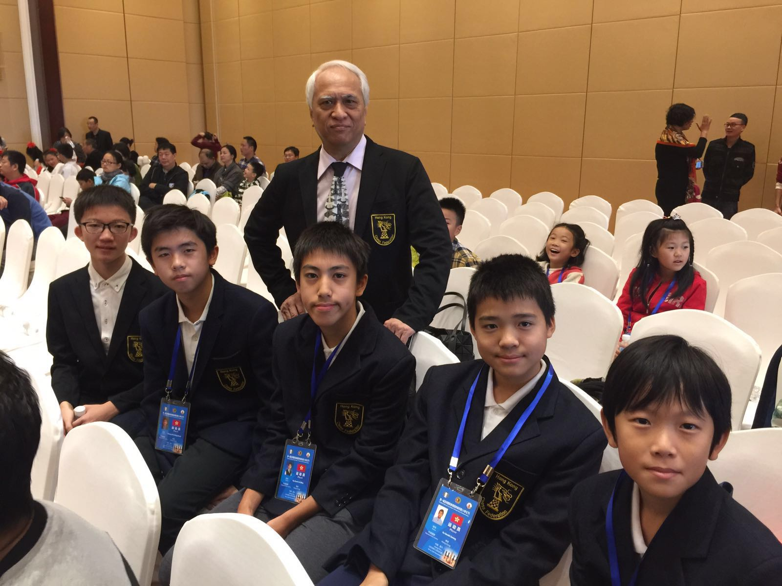 Hong Kong Under-14 Team Held their own in Asian Team Championship
