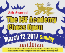 The 8th Annual ISF Chess Open 2017 Tournament
