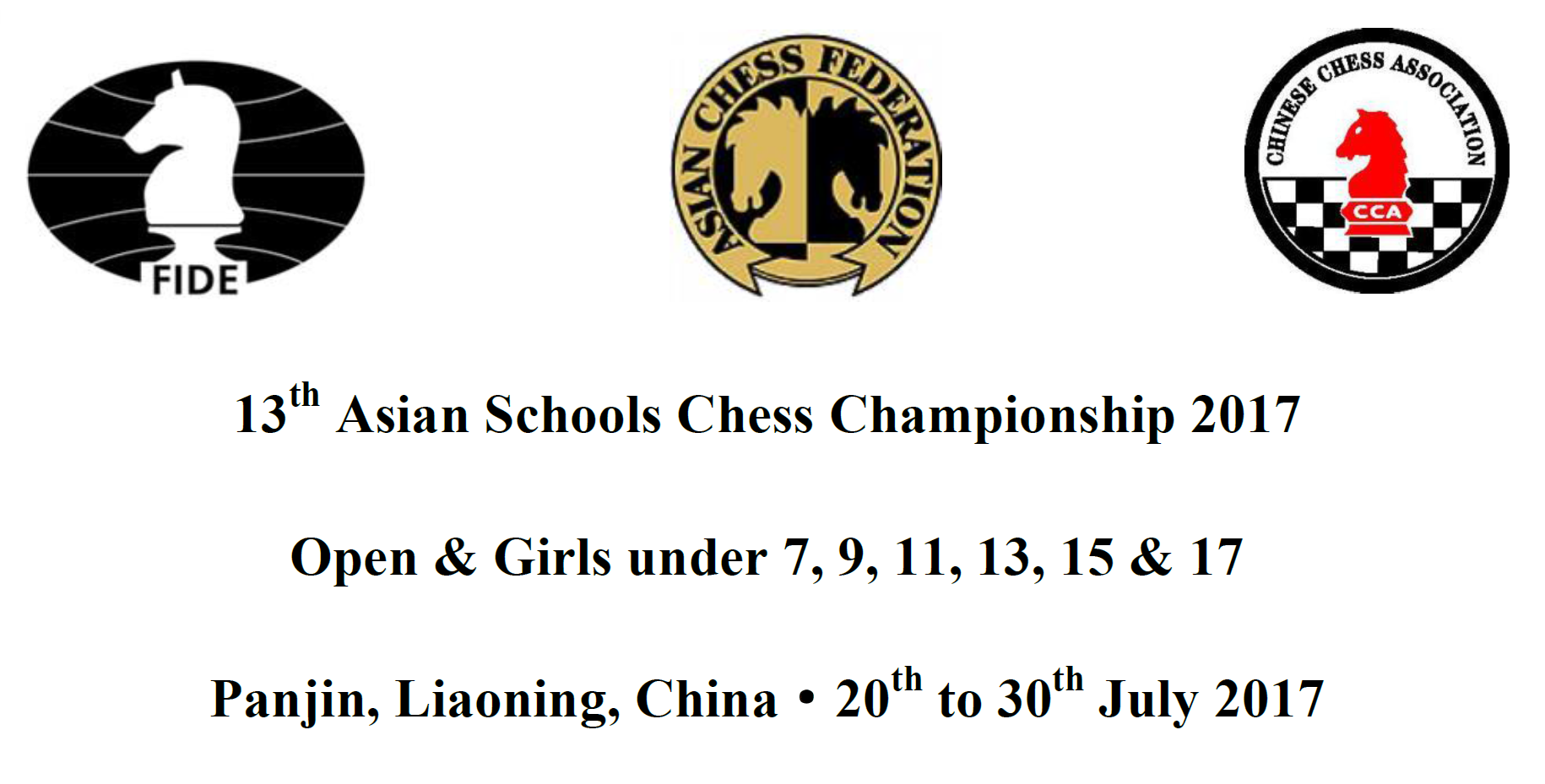 13th Asian Schools Chess Championships
